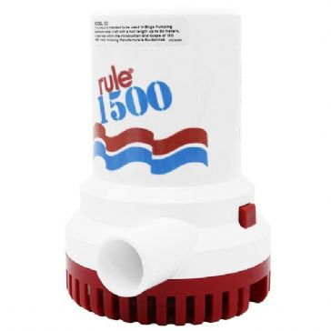 RULE 02 1500 SUBMERSIBLE BILGE PUMP 12V